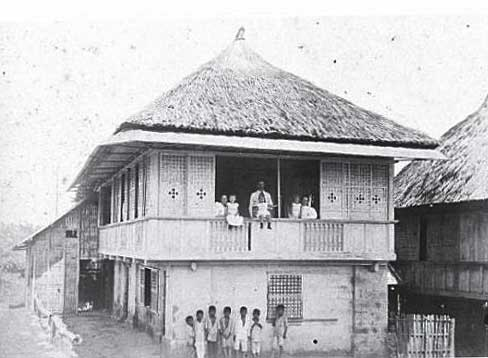 Hipped roof Philippine house