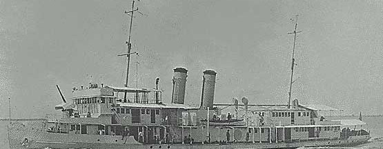 USS Panay underway off Woosung, China on August 30, 1928