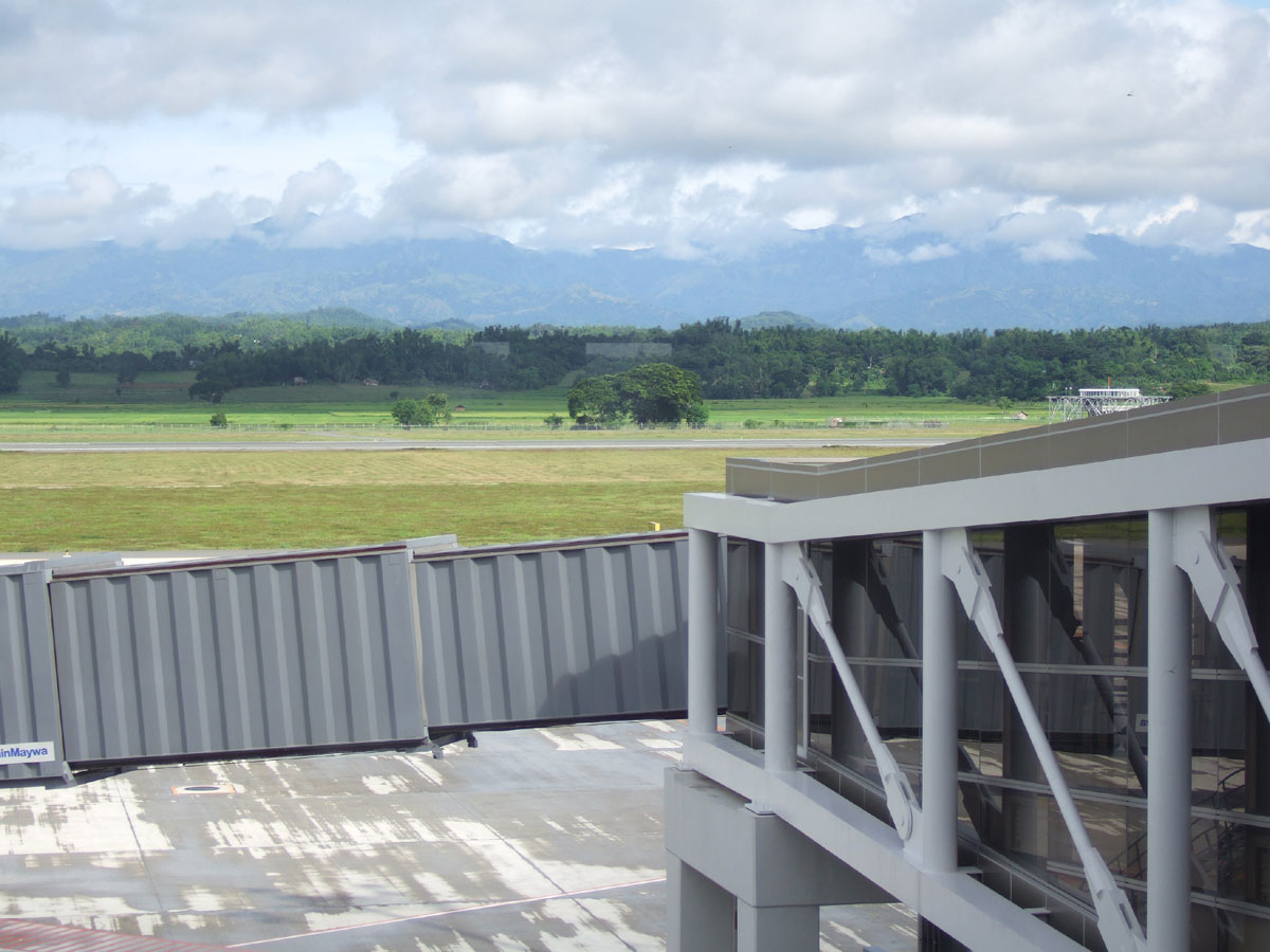 The Bucolic Setting of the New Airport Reminds us of Vermont