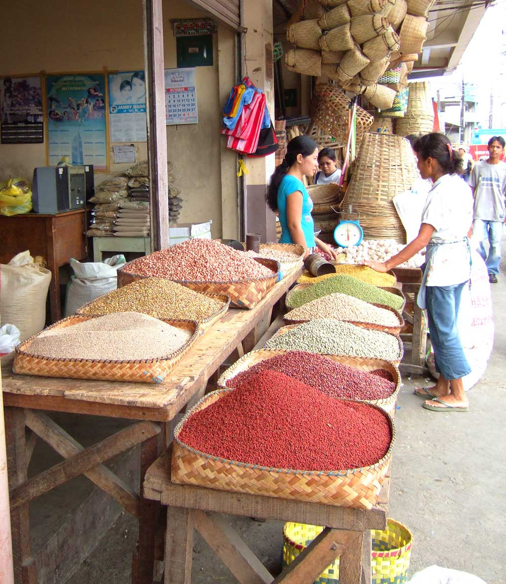 Beautiful Beans at Iloilo Public Market