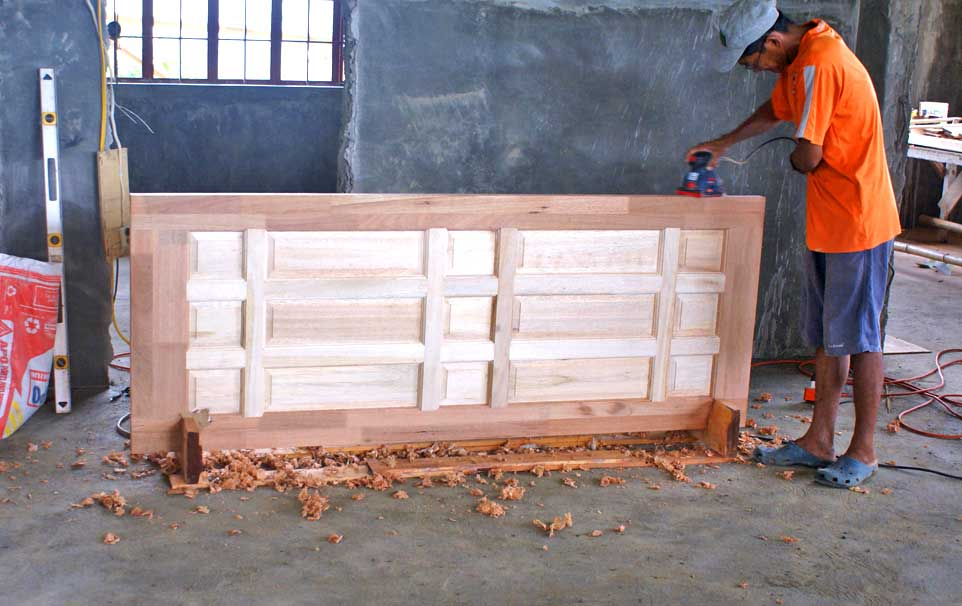 Discuss wood panel doors philippines chair table for Wood house design philippines