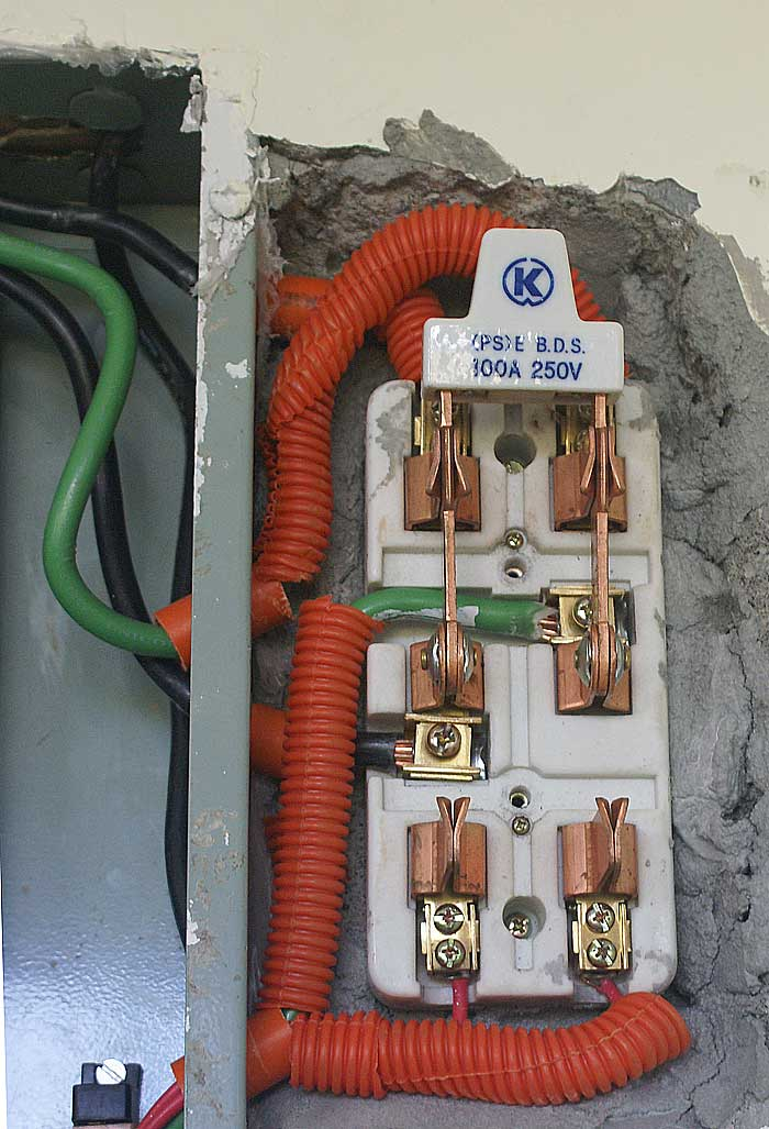 100 amp DPDT generator switch