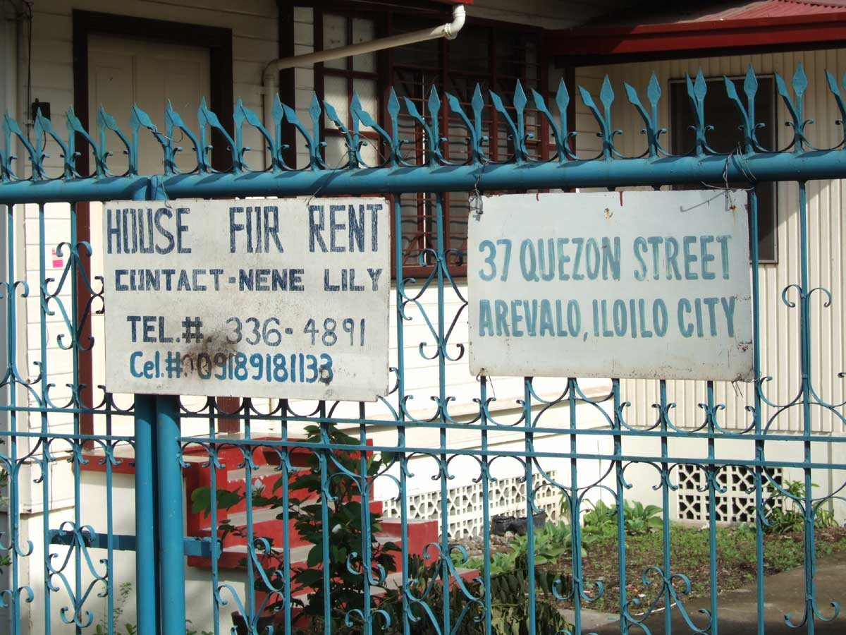 House for Rent, Villa, Iloilo City