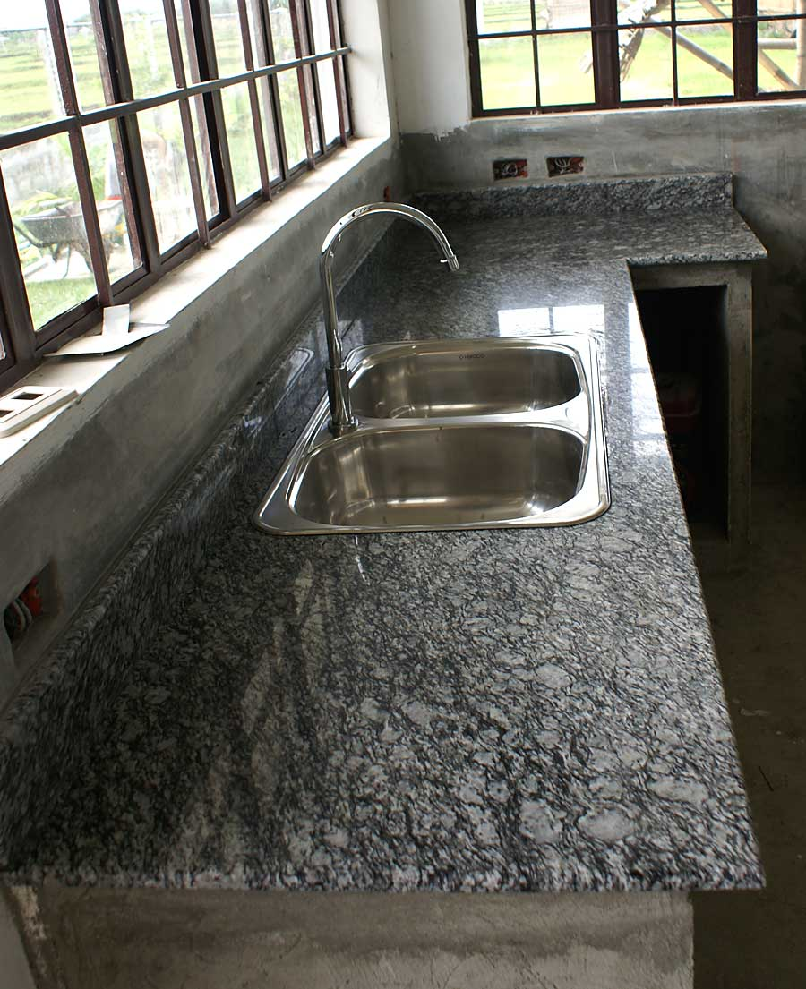 Granite installed. Our Philippine House Project   Granite Countertops   My Philippine
