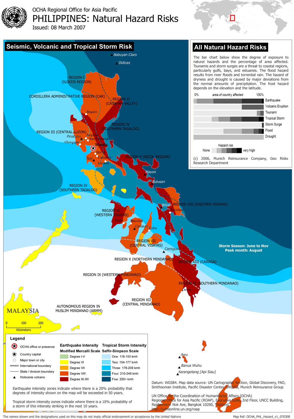 Philippine Hazard Map