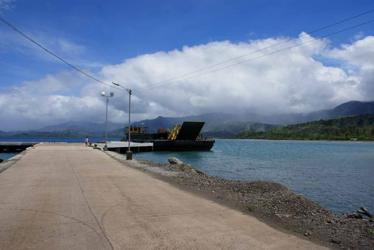 The dock at Lipata Point, Culasi, Antique