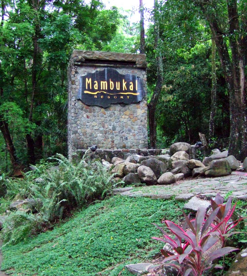 Entrance, Mumbukal Mountain Resort, Negros Occidental, Philippines