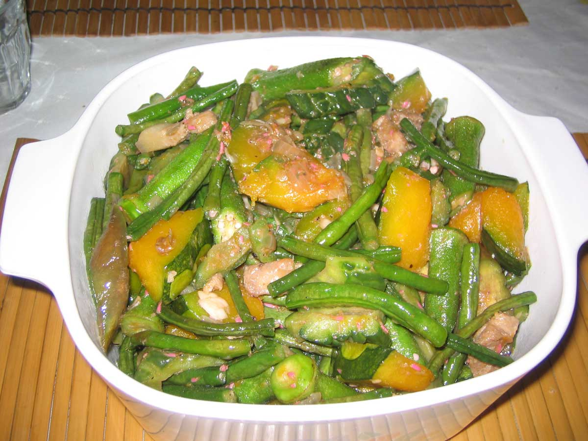 "Pinakbet - vegetable stew ""Philippine Ratatouille"""
