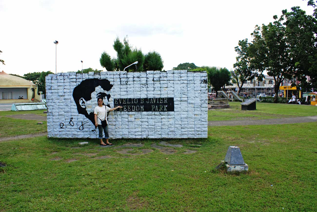Evelio B. Javier Freedom Park, San Jose, Antique Province, Philippines