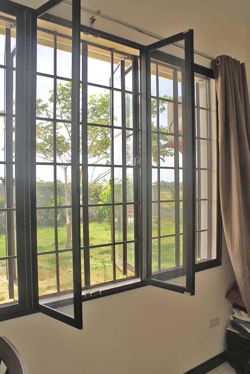Our philippine house project window screens for Best windows for new house