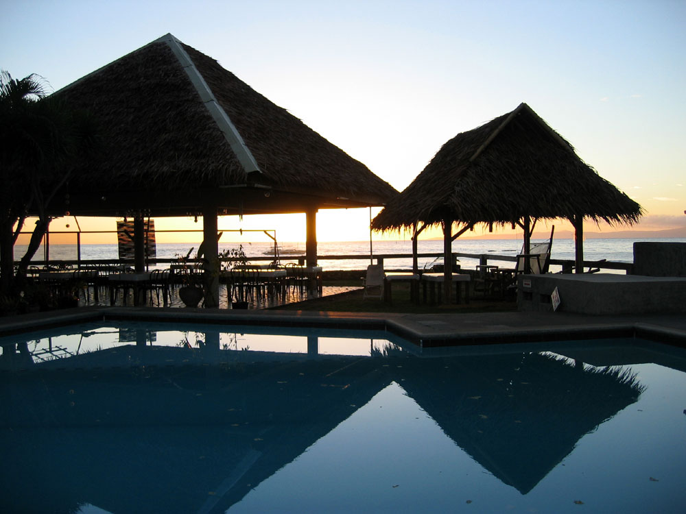 Sunrise, South Seas Resort, Dumaguete