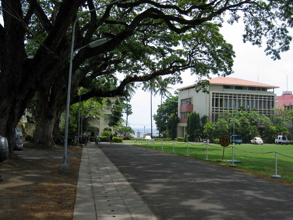 The beautiful Silliman University Campus, Dumaguete