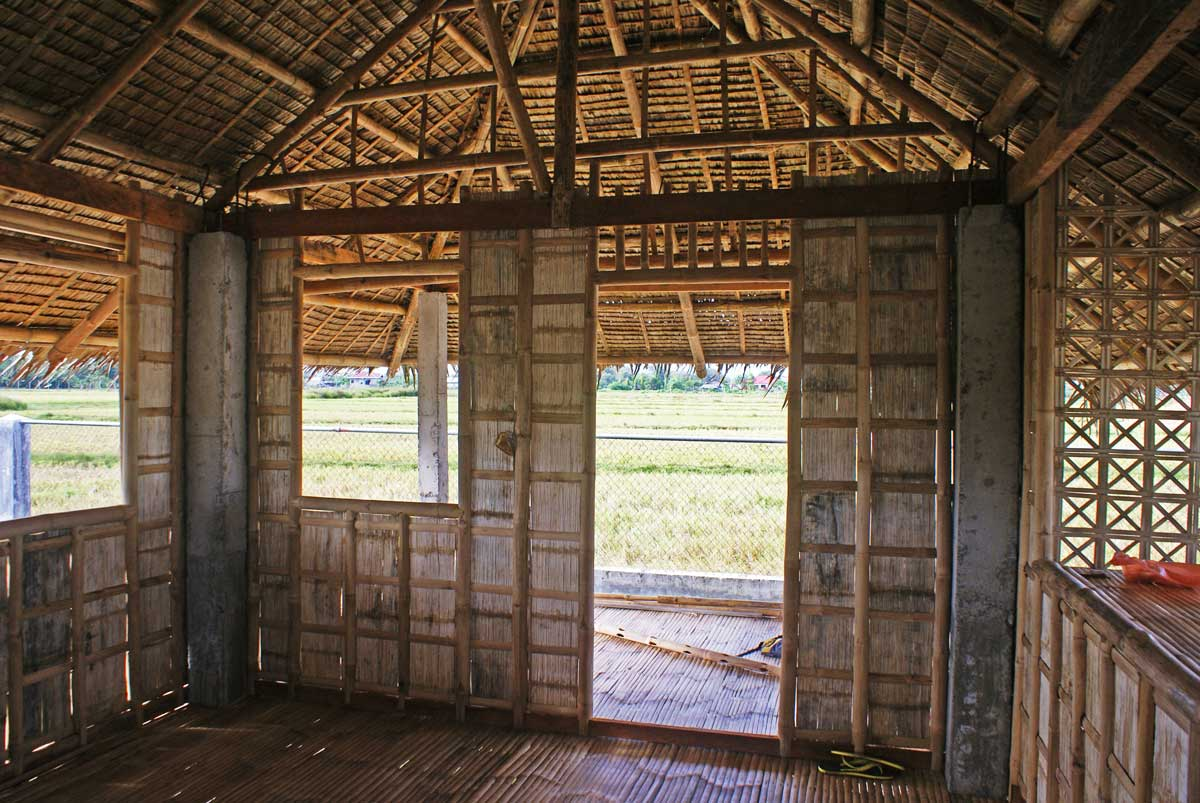 """We build a """"bahay kubo"""" bamboo guest house 
