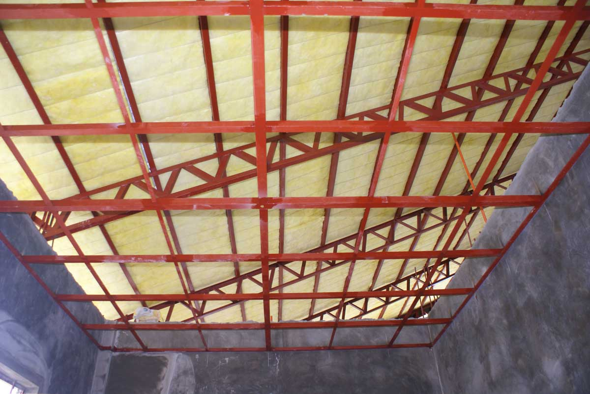 Our Philippine House Project Ceiling Support System