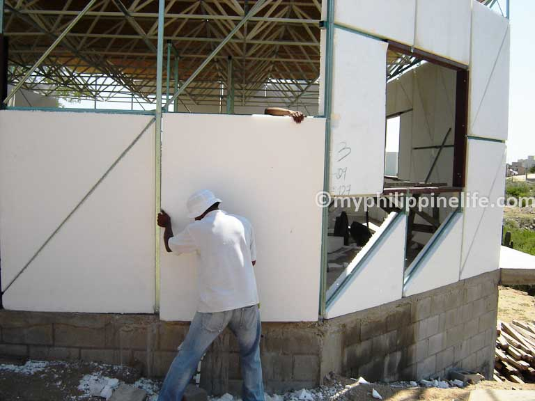 An Alternative To The Concrete Block House In The