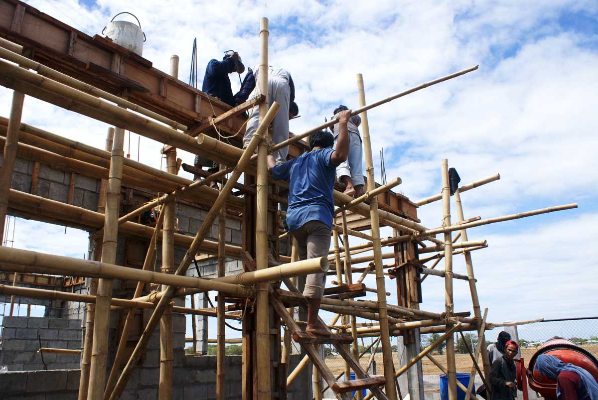 Our Philippine House Project The Structural Heart Of The