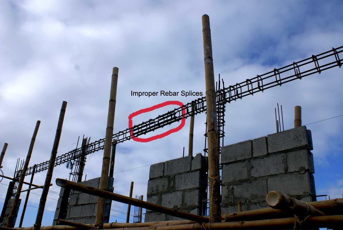 Our Philippine house project: the structural heart of the house