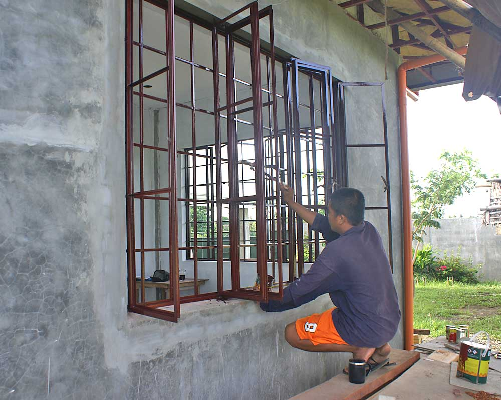 Windows paint final my philippine life - Exterior wall materials philippines ...